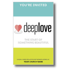 Deep Love Church Postcard