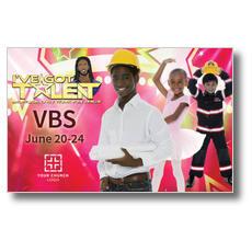 I've Got Talent Postcard