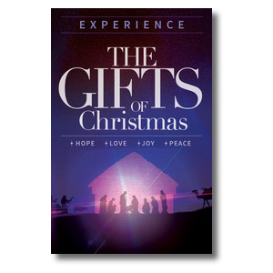 The Gifts of Christmas Advent Postcards