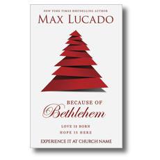 Because of Bethlehem Postcard