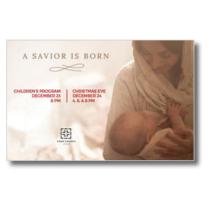 Baby Jesus and Mary Postcards
