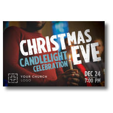 Candlelight Celebration Postcard