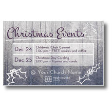 Christmas Events Grid
