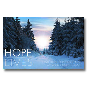 Hope Lives Postcards