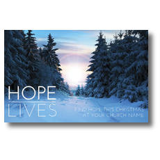 Hope Lives Postcard