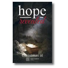Hope Revealed Manger Postcard