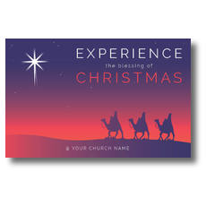 Christmas Wise Men Postcard