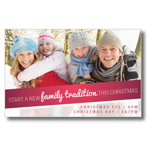 Family Tradition Postcards