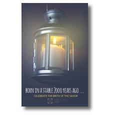Lantern Candle Postcard