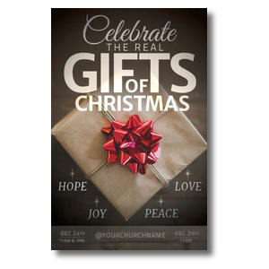 Real Gifts of Christmas Postcards