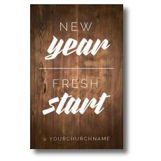 New Year Fresh Start Postcard