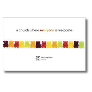 Gummi Bear Welcome Postcards