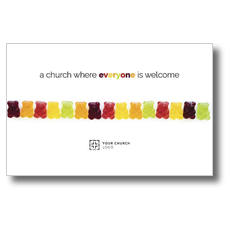Gummi Bear Welcome Postcard