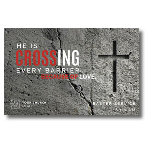 Crossing Every Barrier Church Postcards