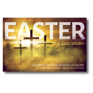 Easter Epic Story Postcards