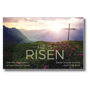 He Is Risen Mountain Postcards