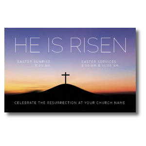 He Is Risen Sunrise Postcards