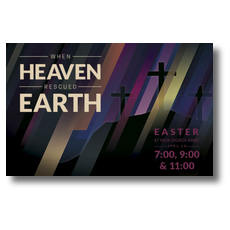 Heaven Rescued Earth Postcard