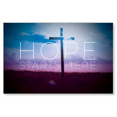 Hope Starts Here Postcard