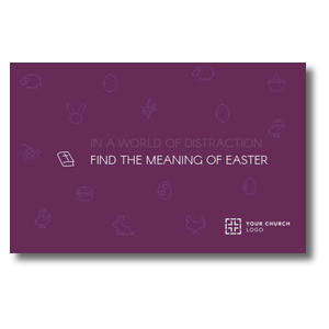 Meaning of Easter Postcards