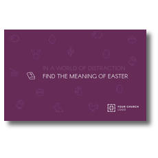 Meaning of Easter Postcard