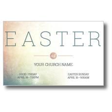 Pastel Easter At Postcard