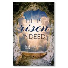 Risen Open Tomb Postcard