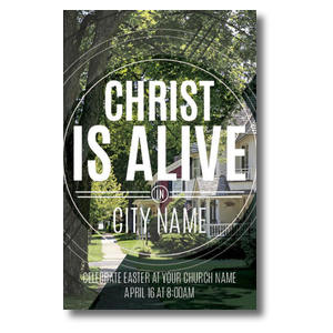 Christ Is Alive Suburban Postcards