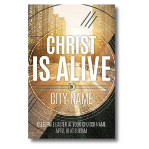 Christ Is Alive Urban Postcards
