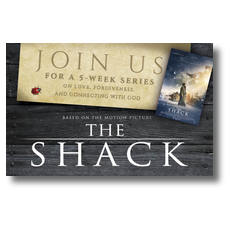 The Shack Movie Ladybug Postcard