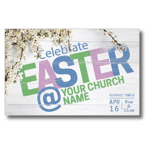 Easter At Flower Branch Postcards