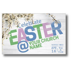 Easter At Flower Branch Postcard