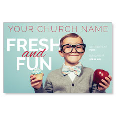 Fresh and Fun Postcard
