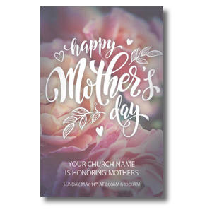Mothers Day Flowers Postcards