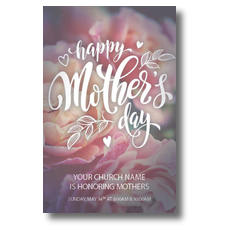Mothers Day Flowers Postcard
