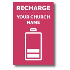 Recharge Postcard