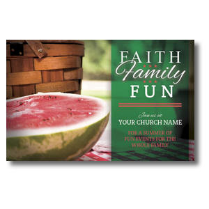 Faith Family Fun Postcards