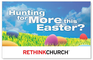 UMC Easter Hunt Postcards
