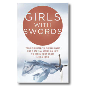 Girls With Swords Postcards