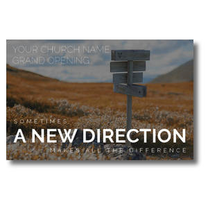 A New Direction Postcards
