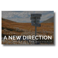 A New Direction Postcard