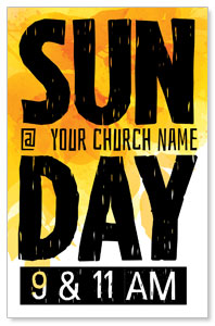 Bold Sunday Postcards