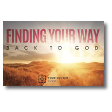 Finding Your Way Postcard