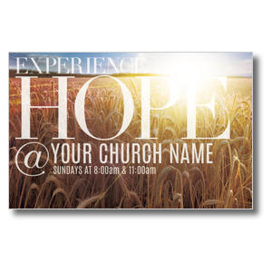 Hope Wheat Field Church Postcards