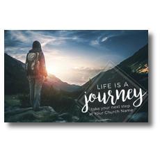 Mountains Journey Postcard