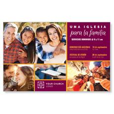 Para La Familia Spanish Postcard