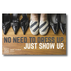 Show Up Shoes Postcards