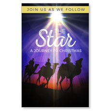 The Star A Journey to Christmas Postcard