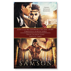 Samson Movie Postcard