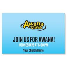 Awana Clubs Postcard